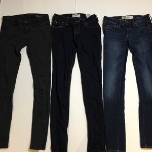 Denim - Blank NYC and A&F Jeans Loy